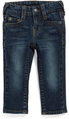Infant Boy's True Religion Brand Jeans 'Geno' Relaxed Slim Fit Classic Jeans $69 thestylecure.com