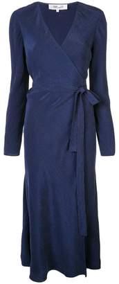 Diane von Furstenberg wrap midi dress