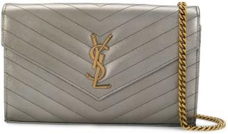 Saint Laurent Angie envelope clutch bag