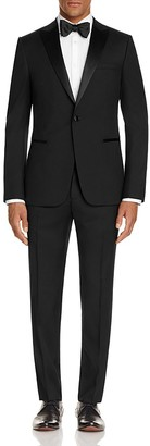 Z Zegna Satin Peak Lapel Slim Fit Tuxedo $1,395 thestylecure.com