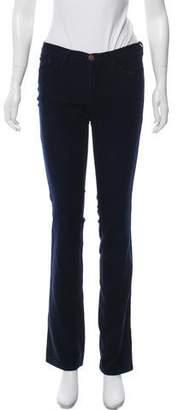 J Brand Corduroy Straight-Leg Pants