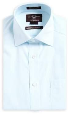 Black & Brown Black Brown Classic-Fit Non Iron Striped Dress Shirt