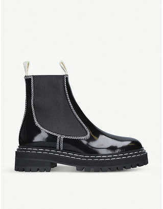 Proenza Schouler Patent leather Chelsea boots