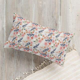 Wildflower Crest Self-Launch Lumbar Pillows