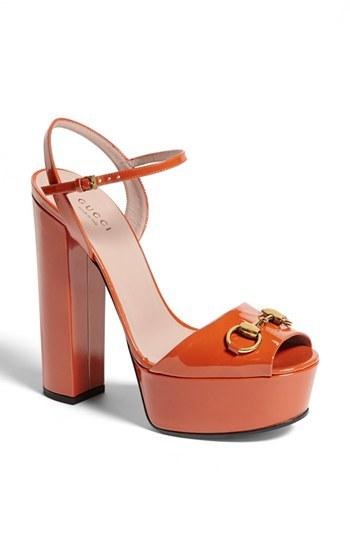 Gucci 'Claudie' Platform Sandal