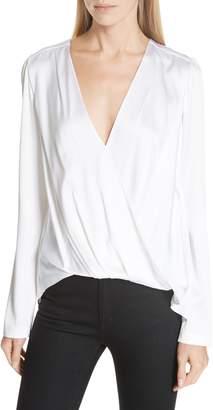 A.L.C. Harmon Stretch Silk Blouse