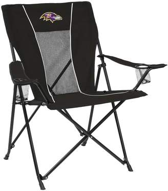 ... Game Time Adult Logo Brand Baltimore Ravens Portable Folding Chair