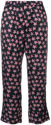 Love Stories star printed pyjama trousers