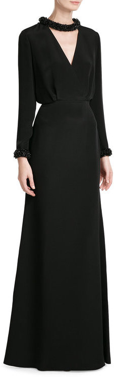 Emilio Pucci Emilio Pucci Jewel Embellished Evening Gown
