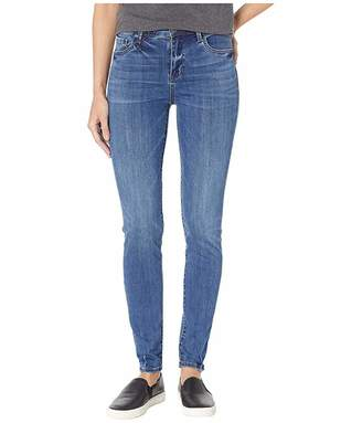 KUT from the Kloth Mia High-Rise Skinny Jeans in Untouchable w/ Medium Base Wash