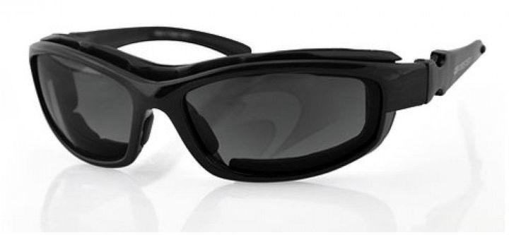 BOBSTER Bobster Road Hog II Convertible Black Frame 4 Lenses