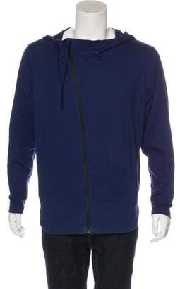 Helmut Lang Asymmetrical Zip-Up Hoodie
