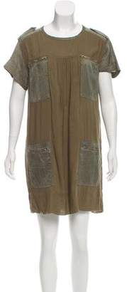 Etoile Isabel Marant Silk-Blend Shift Dress