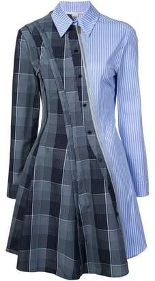 Stella McCartney Mixed Print Shirt Dress