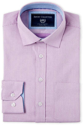 Report Collection Boys 8-20) Checkered Dress Shirt