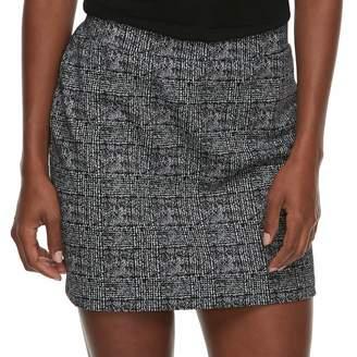 Apt. 9 Women's Exposed Zipper Skirt