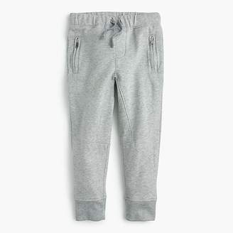 J.Crew Kids' zip-pocket sweatpant in slim-fit