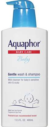 Aquaphor Baby Gentle Wash & Shampoo 13.5 Fluid Ounce