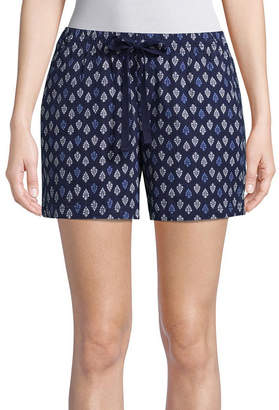 ST. JOHN'S BAY Womens Pull-On Short