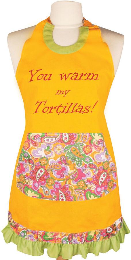 JCPenney Women's You Warm My Tortillas Apron