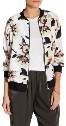 WEST KEI Floral Print Bomber Jacket $70 thestylecure.com