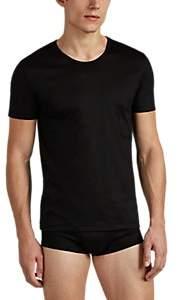 Zimmerli Men's Sea Island Cotton Jersey T-Shirt - Black