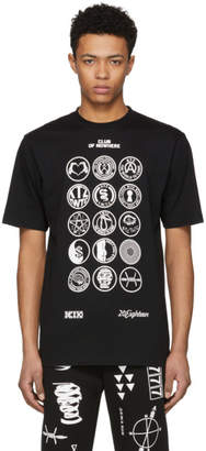 Kokon To Zai Black and White Scout Patch T-Shirt