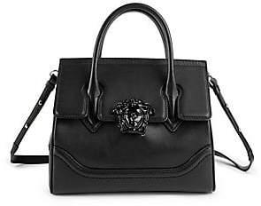 57d7a159e1 Versace Women s Medium Palazzo Empire Leather Satchel