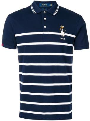 Polo Ralph Lauren Polo Bear striped polo shirt