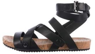 Rebecca Minkoff Leather Multistrap Sandals