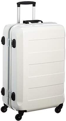 WR (ダブル アール) - [レジェンドウォーカー] legend walker(レジェンドウォーカー) 6021-64 TRAVEL METER 重量チェッカー付スーツケース ポリカーボネート100%容量最大級 6021-64 WH (ホワイト)