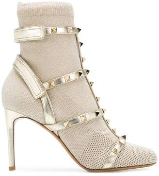 Valentino studded boots