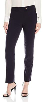 Tahari by Arthur S. Levine Women's Bi Stretch One Button Pant
