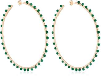 Rosantica Angola Large Hoop Earrings
