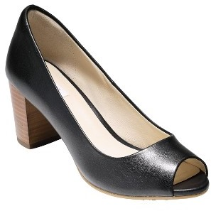 Women's Cole Haan Lacey Open Toe Pump $150 thestylecure.com