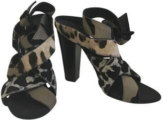 Giuseppe Zanotti Pony-style calfskin sandal