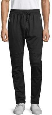 Drawstring French Terry Jogger Pants