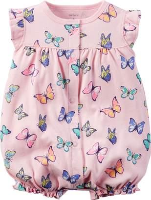 Carter's Girls NB-24 Months Butterfly Romper