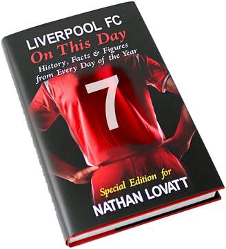 Very Personalised On This Day Football Book
