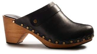 M.PATMOS Lisa B. High Heel Leather Clogs