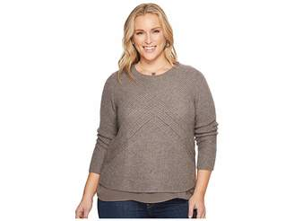 Lucky Brand Plus Size Nico Sweater Women's Sweatshirt