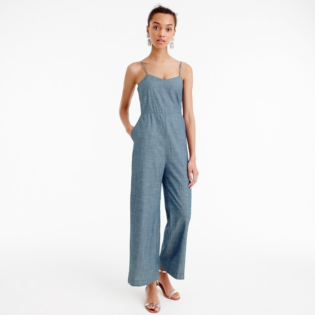 J.Crew Chambray jumpsuit