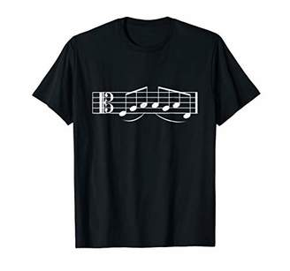 Fab Babe Musical T-Shirt Alto Clef Fabulous Music Note Tee