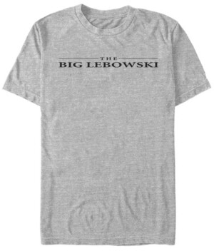 The Big Lebowski Men's Logo Short Sleeve T-Shirt