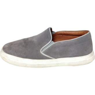Oliver Spencer Grey Suede Trainers