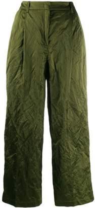 Odeeh cropped wide leg trousers