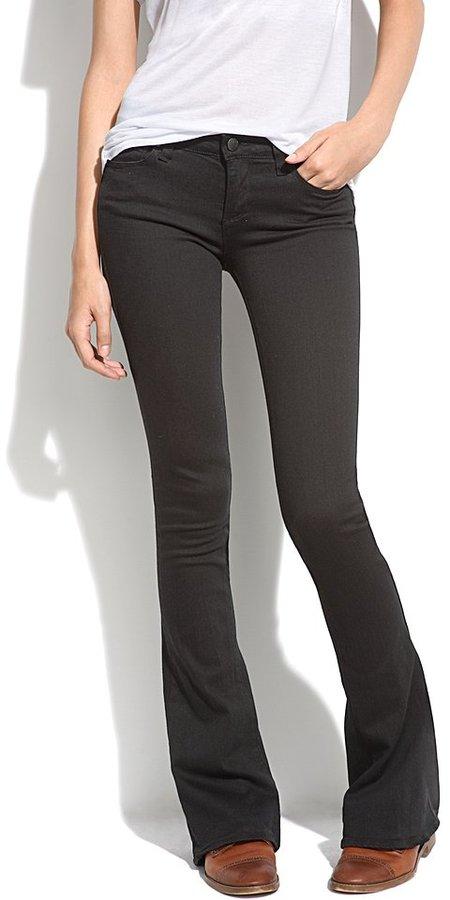 Paige® lou lou jeans in vinyl