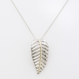 Jewelry For Trees Jewelry for 14k Gold & Sterling Silver Leaf Pendant