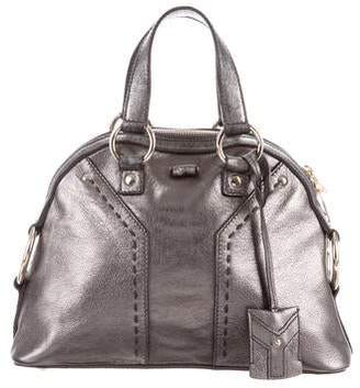 Saint Laurent Metallic Mini Muse Bag