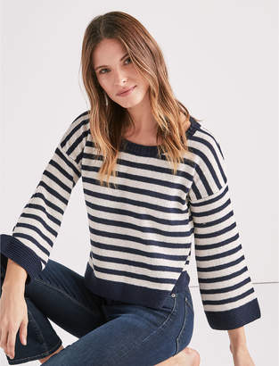 Lucky Brand STRIPED PULLOVER SWEATER